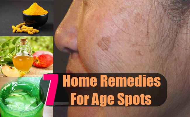 7 Home Remedies For Age Spots