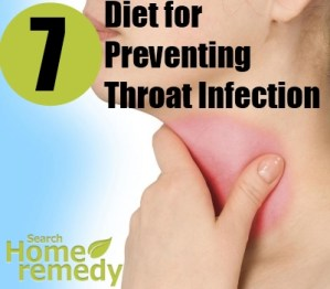 Diet for Preventing Throat Infection