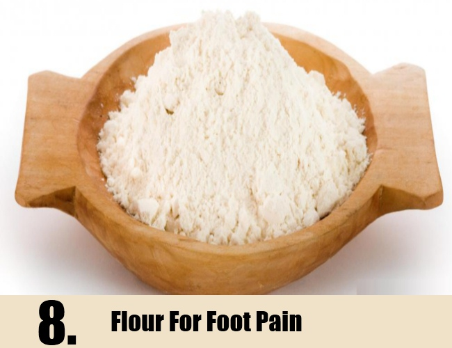 Flour For Foot Pain