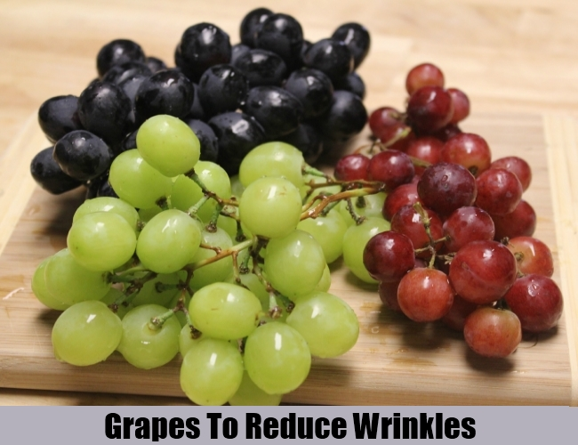 Grapes To Reduce Wrinkles