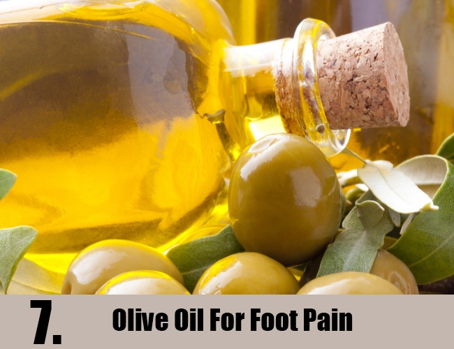 Olive Oil For Foot Pain