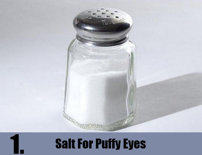 Salt For Puffy Eyes