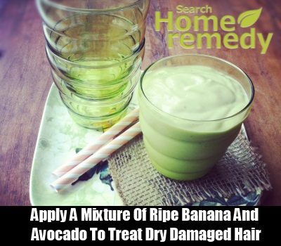 Use a Mixture of Banana and Avocado
