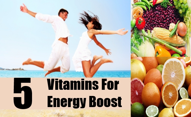 Vitamins for Energy Boost