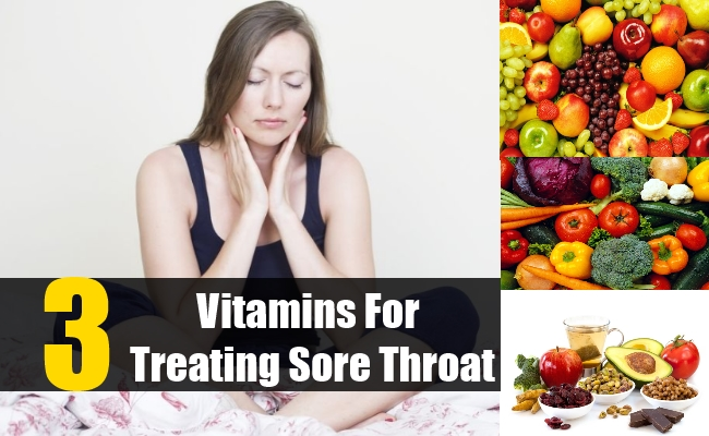 Vitamins for Treating Sore Throat