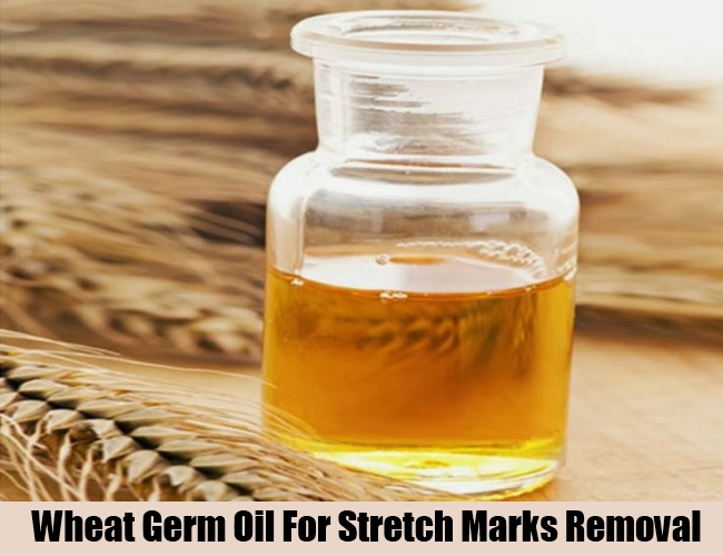 Wheat Germ Oil For Stretch Marks Removal