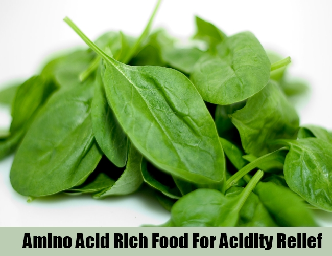 Amino Acid Rich Food For Acidity Relief