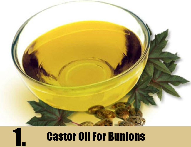 Castor Oil For Bunions