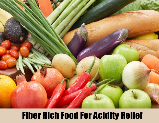 Fiber Rich Food For Acidity Relief