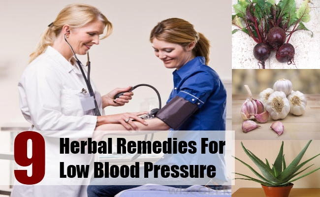 Herbal Remedies For Low Blood Pressure