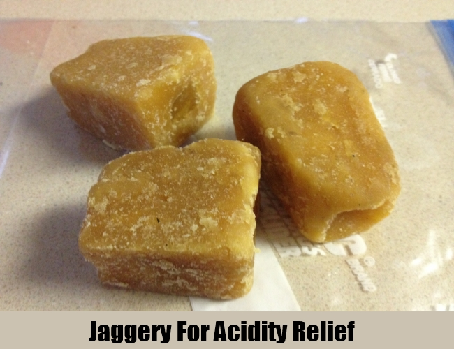 Jaggery For Acidity Relief
