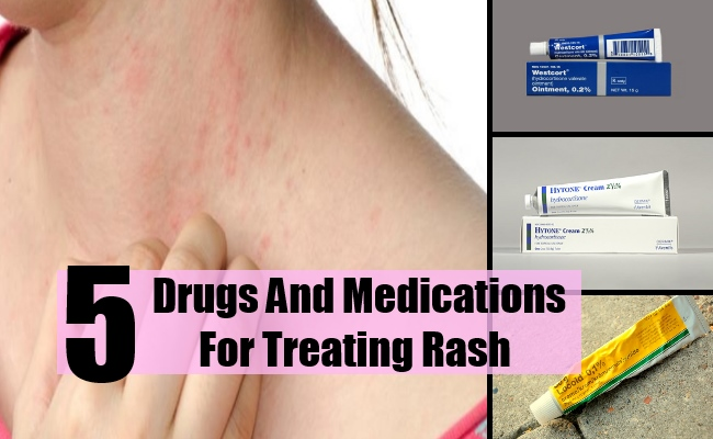 5 Drugs And Medications For Treating Rash