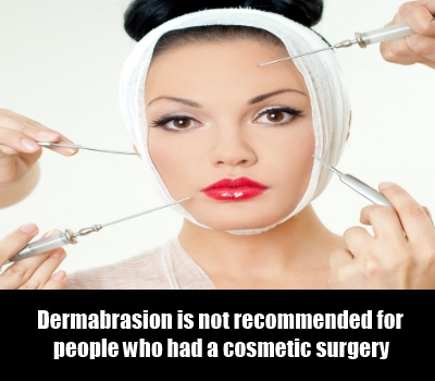 The Right Candidate for Dermabrasion