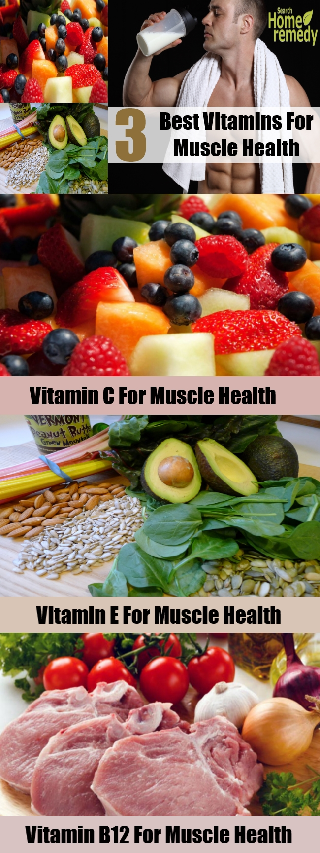 Three Best Vitamins For Muscle Health