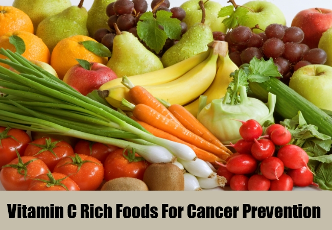 Vitamin C Rich Foods For Cancer Prevention