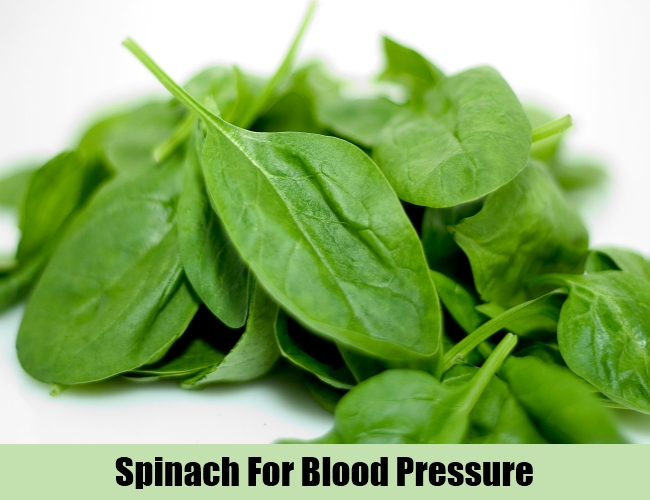 Spinach For Blood Pressure