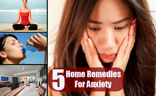 5 Home Remedies For Anxiety