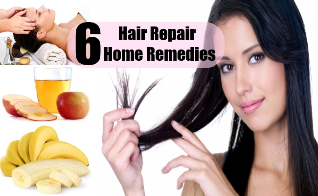 6 Hair Repair Home Remedies