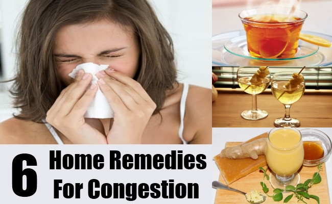 6 Home Remedies For Congestion