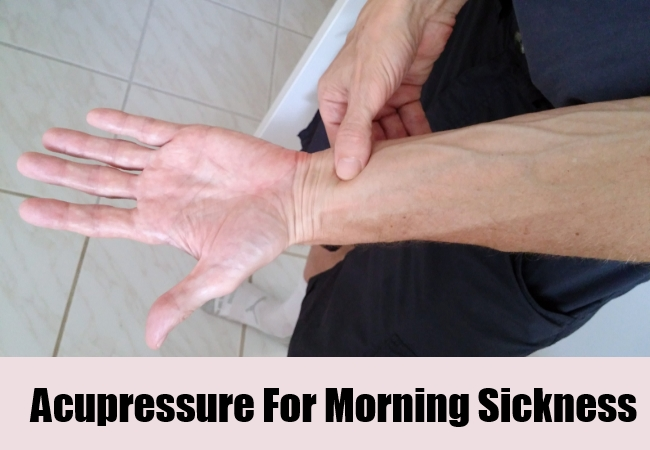 Acupressure For Morning Sickness