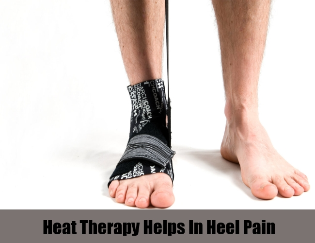 Heat Therapy Helps In Heel Pain