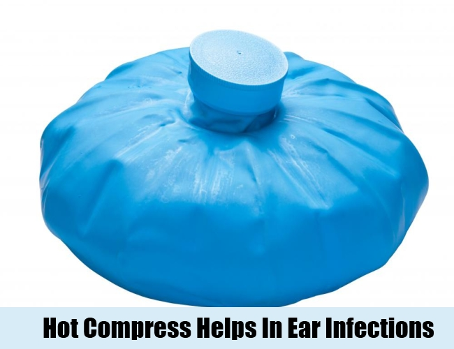 Hot Compress Helps In Ear Infections