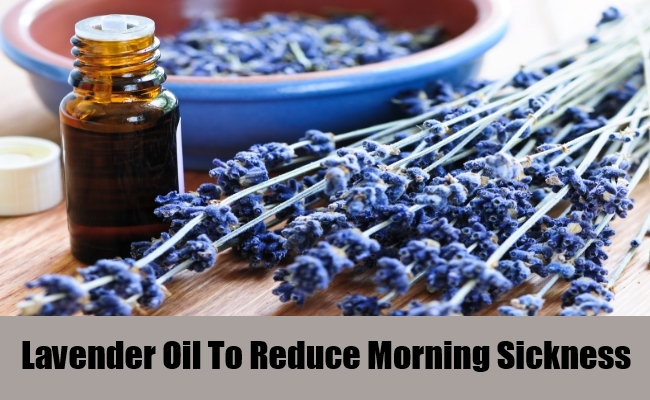 Lavender Oil To Reduce Morning Sickness