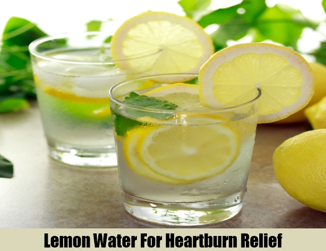 Lemon Water For Heartburn Relief