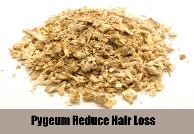 Pygeum Reduce Hair Loss