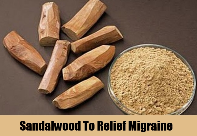 Sandalwood To Relief Migraine