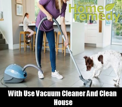 Allergic Proof House with vaccum cleaner