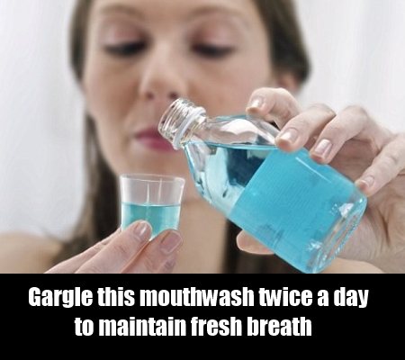 Mouthwash For Bad Breath