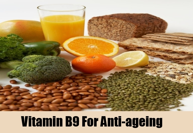 Vitamin B9 For Anti-ageing