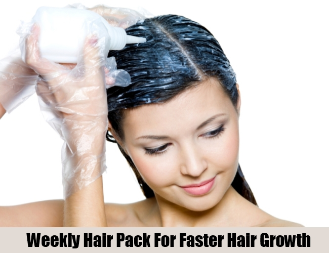 Weekly Hair Pack For Faster Hair Growth