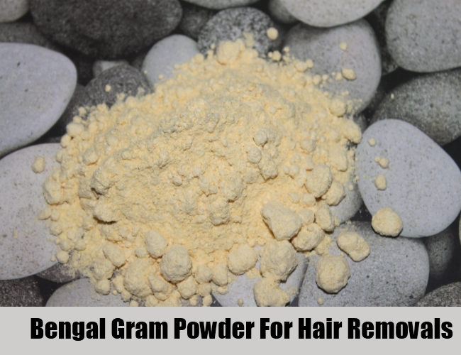 Bengal Gram Powder For Hair Removal