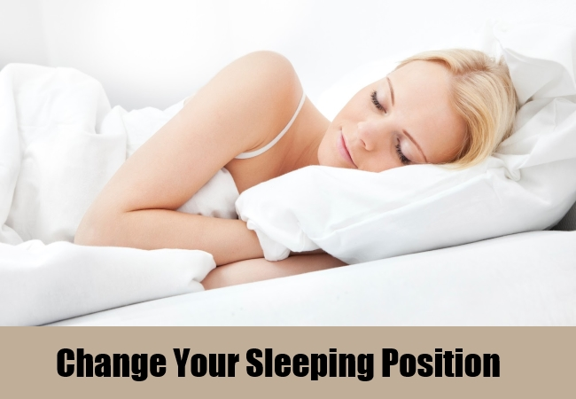 Change Your Sleeping Position