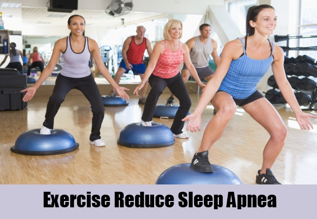 Exercise Reduce Sleep Apnea