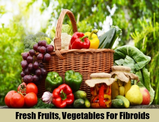 Fresh Fruits, Vegetables For Fibroids