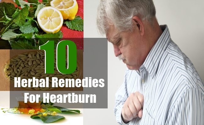 Herbal Remedies for Heartburn