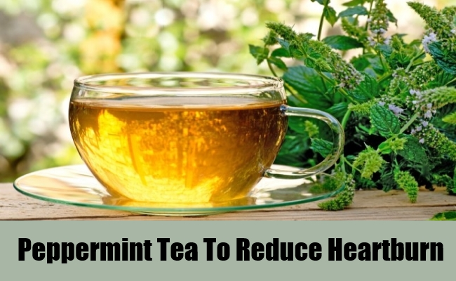 Peppermint Tea To Reduce Heartburn