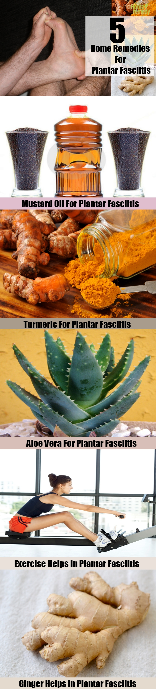 5 Effective Home Remedies For Plantar Fasciitis