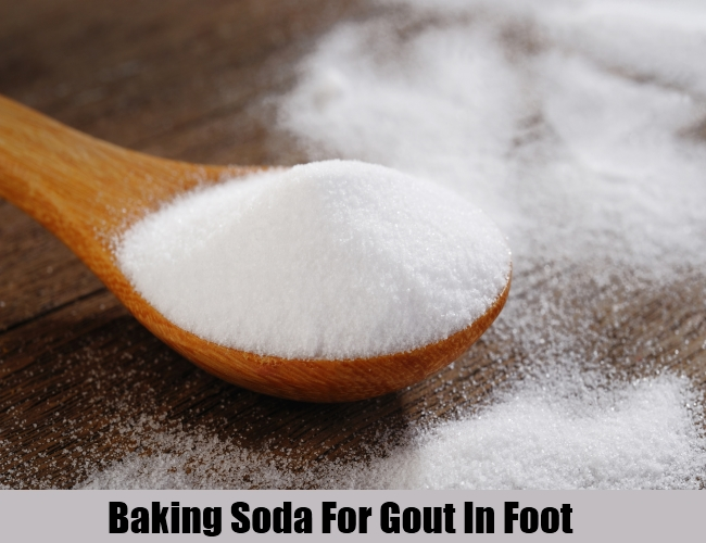 Baking Soda For Gout In Foot