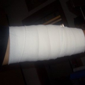 Arms Will Be Bandaged