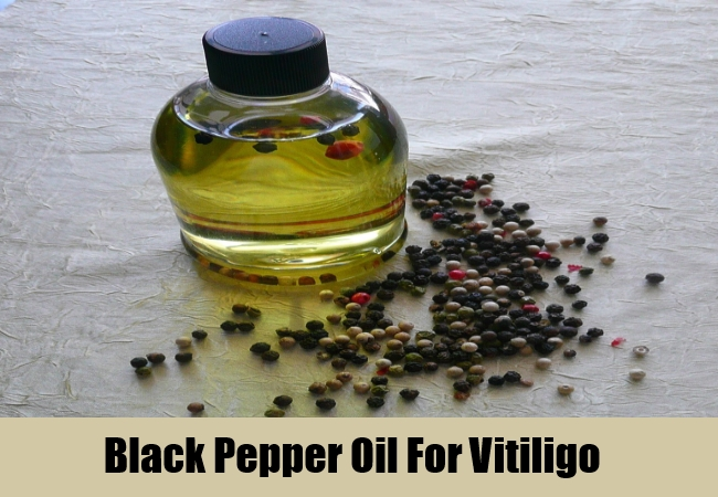 Black Pepper Oil For Vitiligo