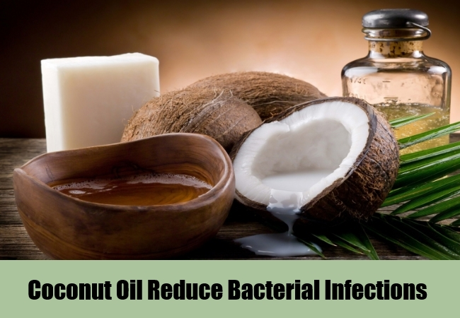 Coconut Oil Reduce Bacterial Infections