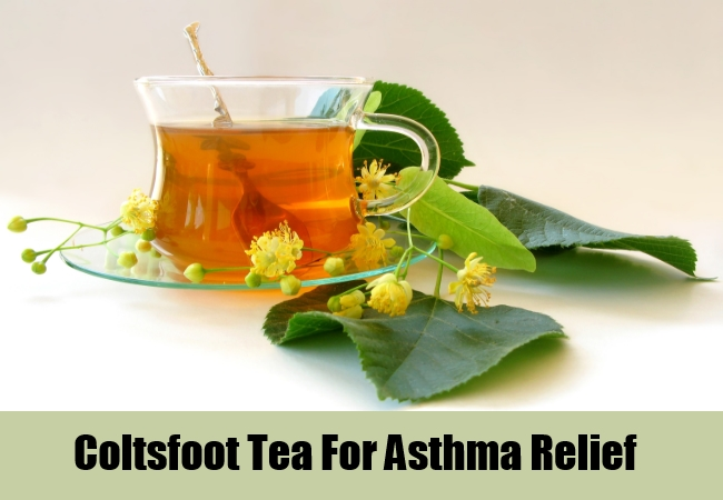 Coltsfoot Tea For Asthma Relief