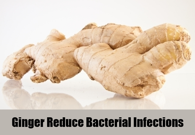 Ginger Reduce Bacterial Infections