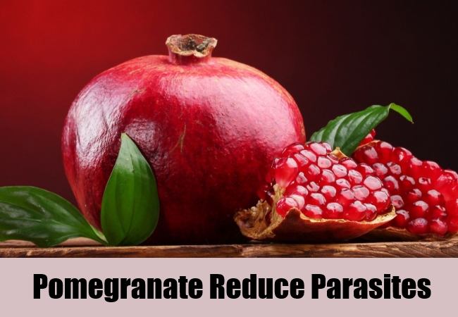 Pomegranate Reduce Parasites