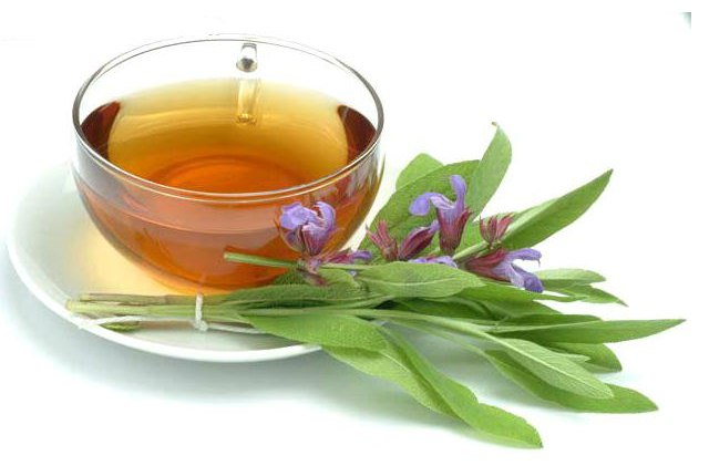 Use Sage/Calendula Tea