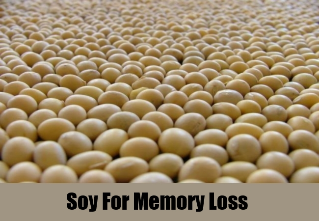 Soy For Memory Loss